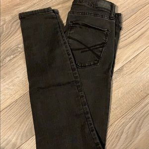 Black Aeropostale high waisted jeggings